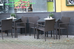 Ратанови мебели за заведения в различни цветове и плетки