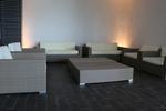 Качествени ратанови мебели за лоби бар на хотел за ресторант