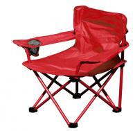 Сгъваем стол за къмпинг в червено