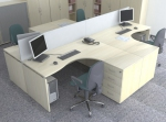 Интериорен дизайн за кабинети за офиси