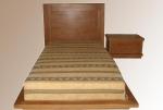 дъбови състарени легла