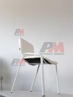 елегантни офис столове в бял цвят
