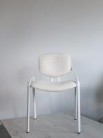 офис столове в бял цвят с елегантен дизайн